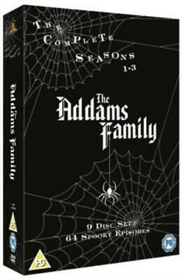 Addams Family: The Complete Seasons 1-3 =Region 2 DVD,sealed=