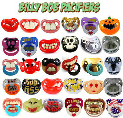 Billy Bob Pacifiers & Teether Cute Baby Pacifier Orthodontic Halloween Pacifier
