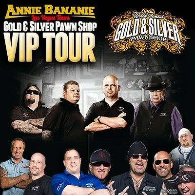 Pawn Stars Vip Tour For 2 People To Gold & Silver Pawn Shop In Las Vegas