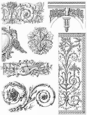 French Decorative Designs of the 18th Century by Edouard Bajot