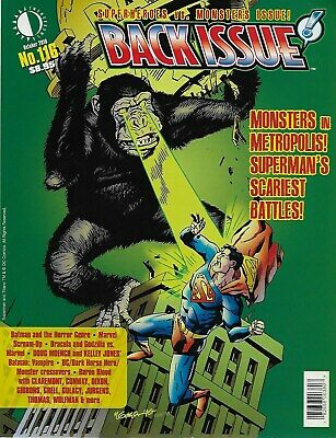 Back Issue! No.116 / 2019 Superheroes vs. Monsters Issue!