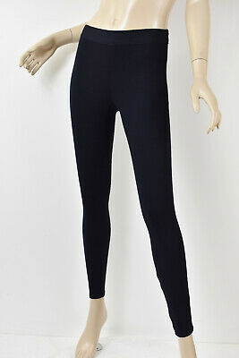 BAILEY 44 Solid Dark Navy Ponte Stretch Knit CORE Pull-On Leggings S
