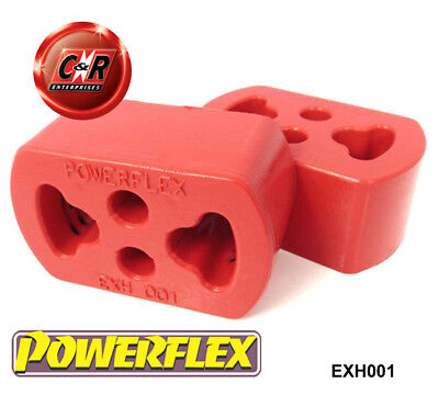 Ford Orion Tous Types Powerflex Échappement Supports EXH001