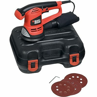 BLACK+DECKER Exzenterschleifer KA191EK, orange