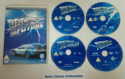 Back to the Future Trilogy - 4 Disc Ultimate Edition - DVD