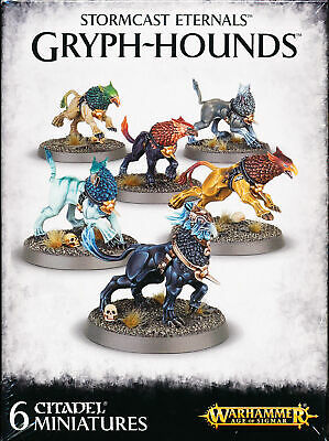 Warhammer Age of Sigmar Storm Cast Eternals Gryph-Hounds Singles