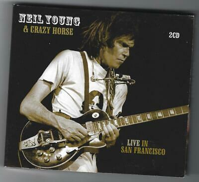 2 CD's - Neil  YOUNG & Crazy Horse ‎- Live In San Francisco - 1978 - Soundboard