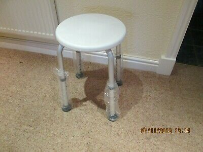 General / Shower Stool Adjustable Height New