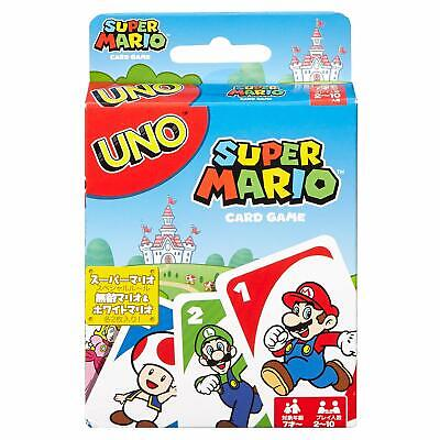 UNO Super Mario Card Game The Classic Matching Card Game For Children