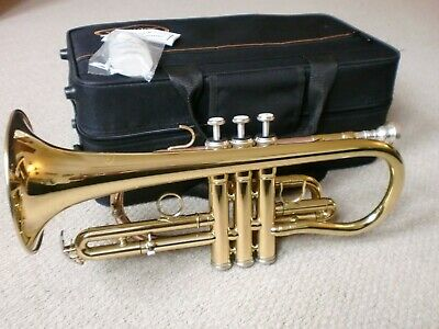 SONATA Bb CORNET - FEW MONTHS OLD - IMMACULATE - JUST £96.99 - AMAZING VALUE!