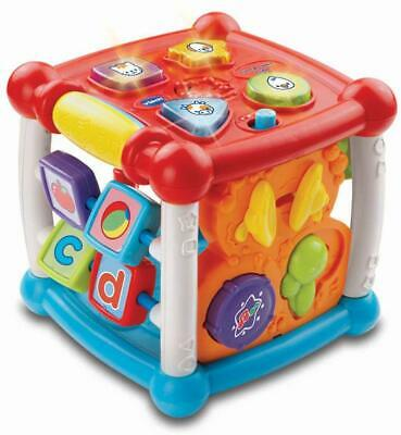 Turn and Learn Cube Toy Baby Infant Newborn Kids Educational Boys Girls Gift