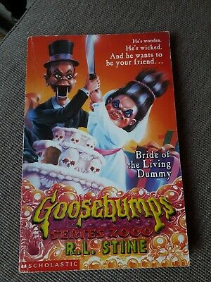 Goosebumps Bride Of The Living Dummy, Series 2000. Rl Stine