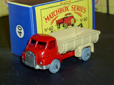 Matchbox Lesney No  A-2 BEDFORD CAR TRANSPORTER  LIGHT BLUE empty Repro Box