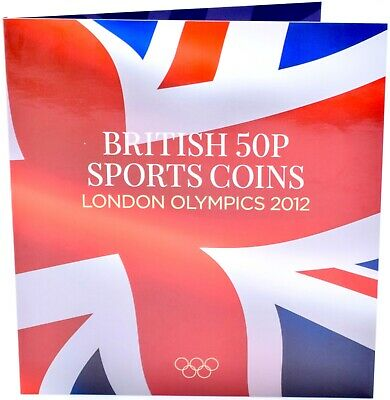 2012 London OLYMPIC Games 50p Collectors coin album  30 Coins XMAS Stocking 11