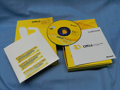 Microsoft Office - Mac 2008 - Home & Student Edition - Activation Keys Incl. NEW