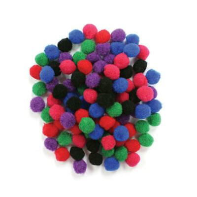 Factory Direct Craft Multicolored Craft Pom Poms | 600 Pieces