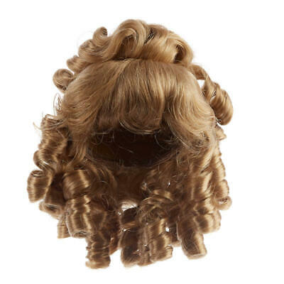 Factory Direct Craft Antina/'s Auburn Doll Wig3 Pieces