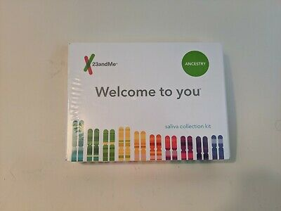 (New) 23 And Me Ancestry Saliva Collection Kit