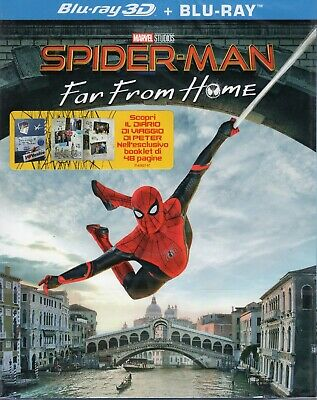 Spider-Man. Far from home 3D (2019) s.e. 2 Blu Ray + BOOK