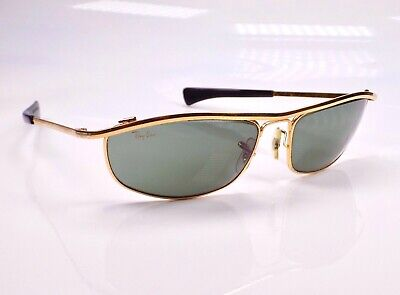 Vintage 1980's B&L Ray Ban Olympian I Deluxe 'Easy Rider' L0255 Wrap Sunglasses