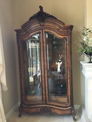 French 18th Century Oak  Armoire from the Port of Normandy