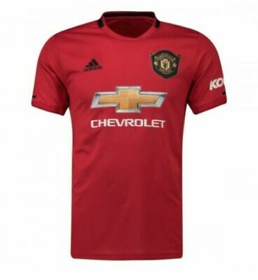 Men's New Crew Neck T-Shirt BNWT Manchesters United Homee Shirts 2019/20