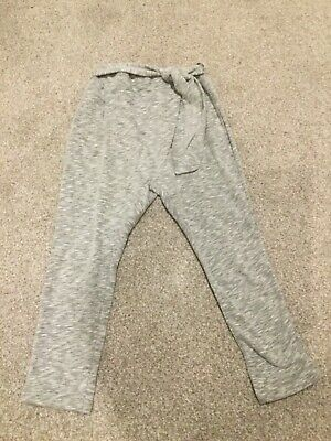 Zara Grey Girls Casual Trousers aged 8