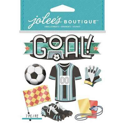 JOLEE/'S BOUTIQUE SOCCER MOM DIMENSIONAL STICKERS  BNIP