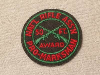 """3/"""" NRA National Rifle Association Embroidered Round Iron on Patch"""