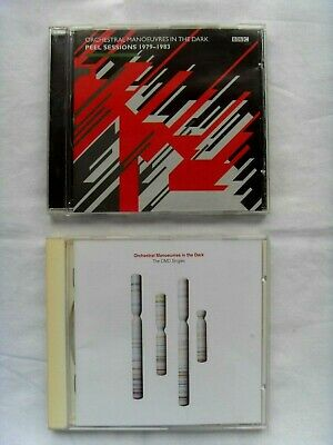 2 Orchestral Manoeuvres in the Dark CD's - Peel Sessions1979-83, The OMD Singles
