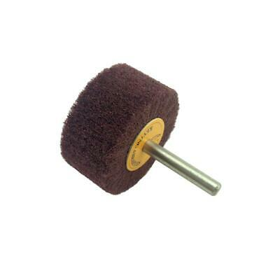 PMD Products 4 100mm Scotch type Brite Abrasive Non Woven Wheel Scuff 40 Grit Debur Tool
