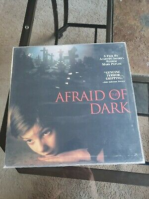 Afraid Of The Dark Laserdisc - HORROR