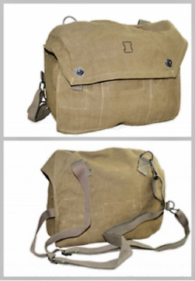 USED Finnish Army M61 Gas Mask Canvas Field Bag Hiking Backpacking Military Pack