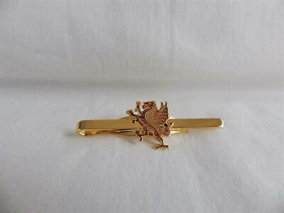 Royal Welsh Fusiliers Tie Clip Standing Dragon