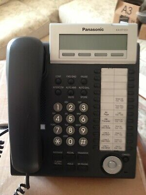 Panasonic KX-DT333-B 24 Button Digital Display Speaker Phone FREE SHIPPING!