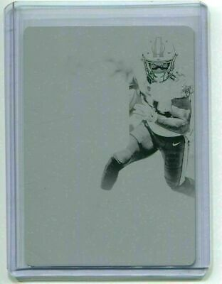 2017 Plates & Patches Printing Plate Black Corey Davis 1/1 Tennessee Titans