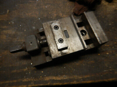 Older Small No. 1 Machine Vise Machinist Tooling Jig Fixture