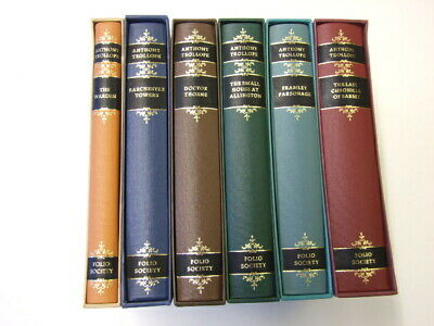 Folio Society Barsetshire Barchester Chronicles Anthony Trollope 6 vols Towers