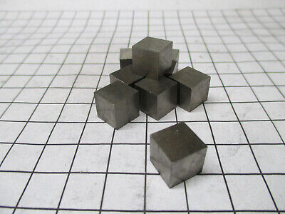 Tungsten Metal 10mm Cube Tungsten Element Sample 99.95% Pure - Periodic Table