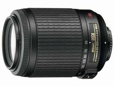 Nikon Telephoto Zoom Lens AF-S DX VR Nikkor 55-200mm f/4-5.6G IF-ED for Nikon DX