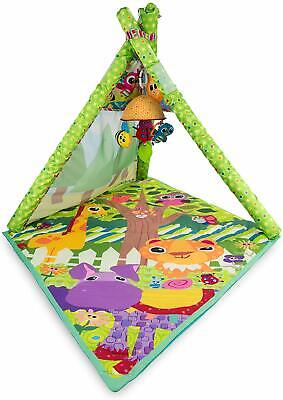 Tomy Lamaze 4 In 1 Teepee New Baby Play Gym Animal Activity Playmat 0 6+ Months