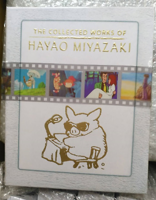 The Collected Works of Hayao Miyazaki Blu-ray Box Set Complete Sealed USA seller
