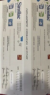 $10 Similac Formula Coupons Canada Cheques - Expire 10/11/2020