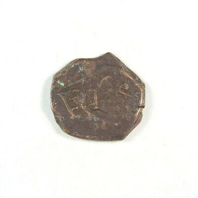 1600's Pirate Treasure Era Spanish Colonial Coin - Exact Coin 2968