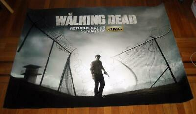 AMC THE WALKING DEAD SEASON 4 5FT subway POSTER TWD Andrew Lincoln RICK