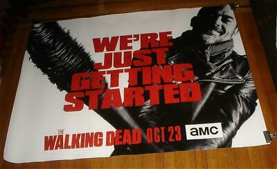 Amc The Walking Dead Season 7 5Ft Subway Poster Negan Twd