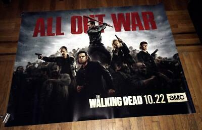 Amc The Walking Dead Season 8 5Ft Subway Poster #4 Twd Negan Dwight Simon