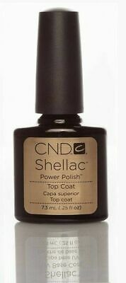 CND Shellac Top coat Nagellack Super Qualität Top Base