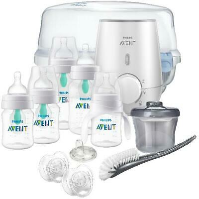 Philips Avent Anti-Colic Bottle with AirFree All-in-One Gift Set