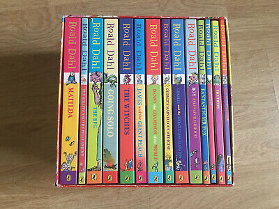 Roald Dahl Phizz Whizzing Collection Box Set - 1 Book Missing